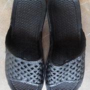 Papuci spuma dama negru