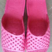 papuci spuma dama roz